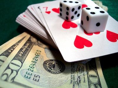 Luck in poker