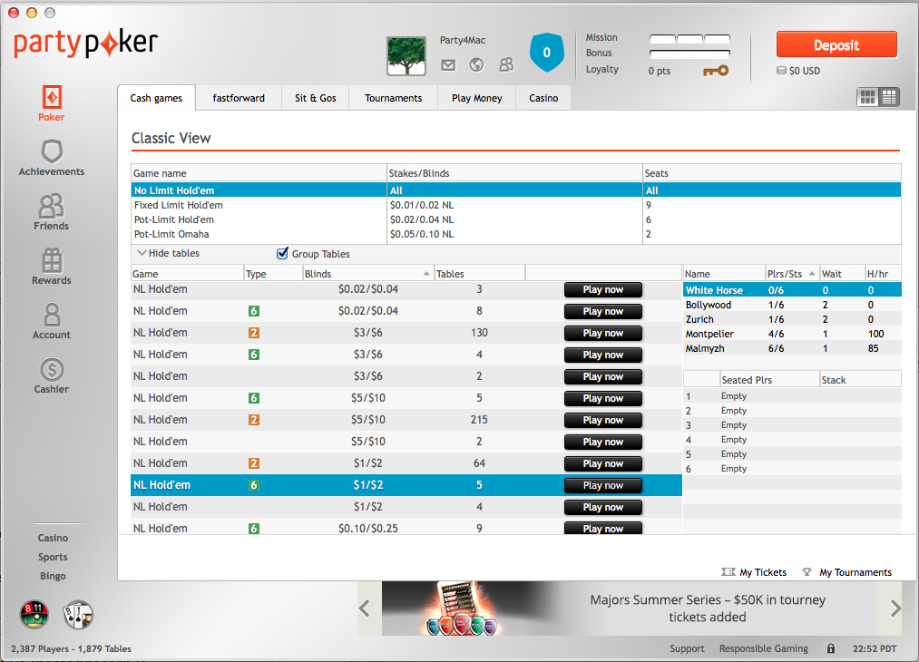partypoker apple